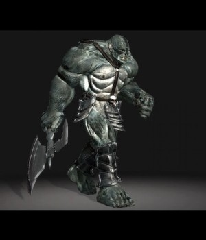 Orc Elite - Extended License 3D Models Extended Licenses 3D Game Models : OBJ : FBX KRBY