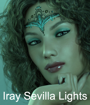 Iray Sevilla Lights 3D Models Lights OR Cameras Anain