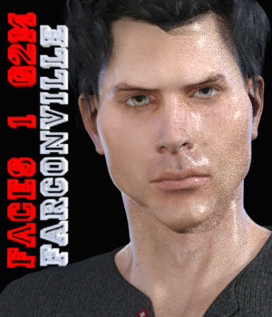 Faces 1 for Genesis 2 Male and Michael 6 3D Figure Assets farconville