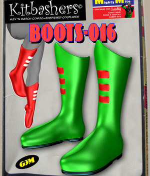 Kitbashers_Boots-016 -- By MightyMite for G3M 3D Figure Assets MightyMite
