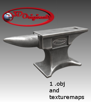 Anvil 3do - Extended License  3D Models Extended Licenses 3D Game Models : OBJ : FBX Designer01