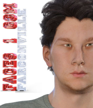Faces 1 for Genesis 3 Male and Michael 7 3D Figure Essentials farconville