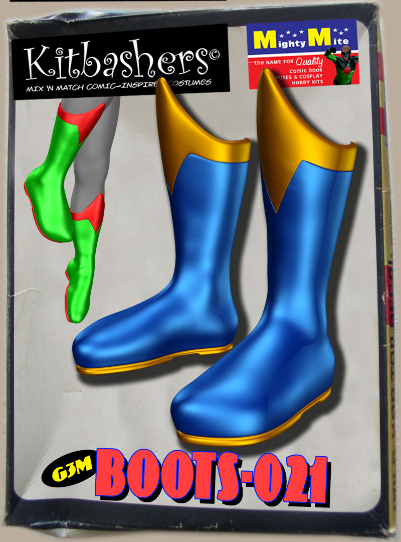 Boots 021 MMKBG3M by MightyMite