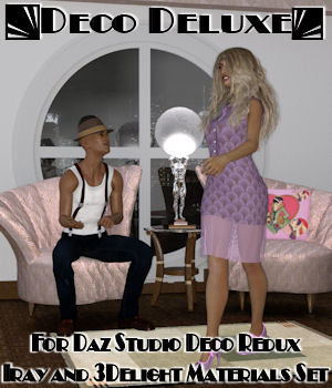 Deco Deluxe for Daz Studio Deco Redux 3D Figure Assets freeone1