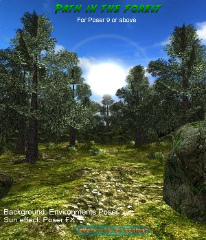 Path in the forest 3D Models JeffersonAF