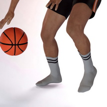 Sport Socks Pack for Genesis 3 Males image 1