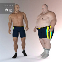 Sport Socks Pack for Genesis 3 Males image 6