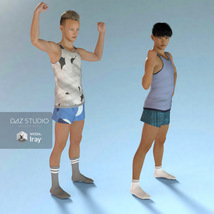 Sport Socks Pack for Genesis 3 Males image 7