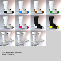 Sport Socks Pack for Genesis 3 Males image 11