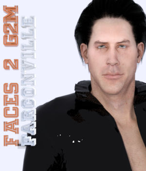 Faces 2 for Genesis 2 Male and Michael 6 3D Figure Assets farconville