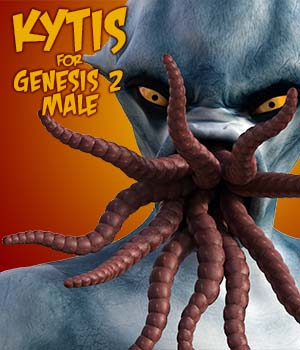 Kytis for Genesis 2 Male 3D Figure Assets Dave