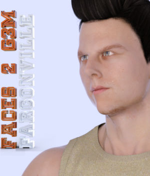 Faces 2 for Genesis 3 Male and Michael 7 3D Figure Assets farconville