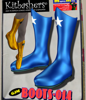 Kitbashers_Boots-014 -- By MightyMite for G3M 3D Figure Assets MightyMite