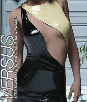 VERSUS - Little Sexy Dress 2 V4, A4, G4 3D Figure Essentials Anagord