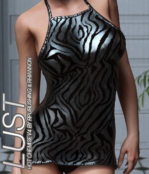 LUST - Hot Chemise 3D Figure Assets Anagord