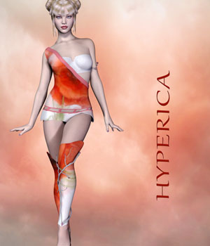 Hyperica - Outfit for Genesis 3 Female 3D Figure Assets EllerslieArt