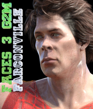 Faces 3 for Genesis 2 Male and Michael 6 3D Figure Assets farconville