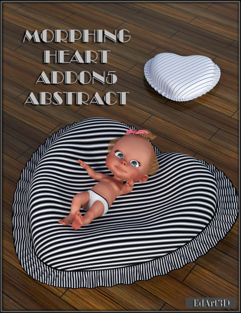Morphing Heart AddOn5 Abstract