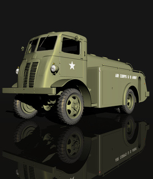 AUTOCAR U2044 - EXTENDED LICENSE 3D Models Extended Licenses 3D Game Models : OBJ : FBX Nationale7