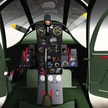 BELL P39 AIRACOBRA URSS - Extended License  image 1