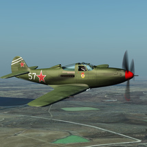 BELL P39 AIRACOBRA URSS - Extended License  image 2