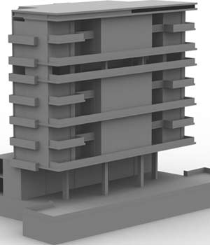 M6 High Rise Condo OBJ, LWO & 3DS - Extended License 3D Models Extended Licenses 3D Game Models : OBJ : FBX RPublishing