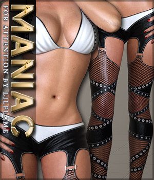 Maniac for Attention 3D Figure Assets Sveva