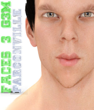 Faces 3 for Genesis 3 Male and Michael 7 3D Figure Assets farconville