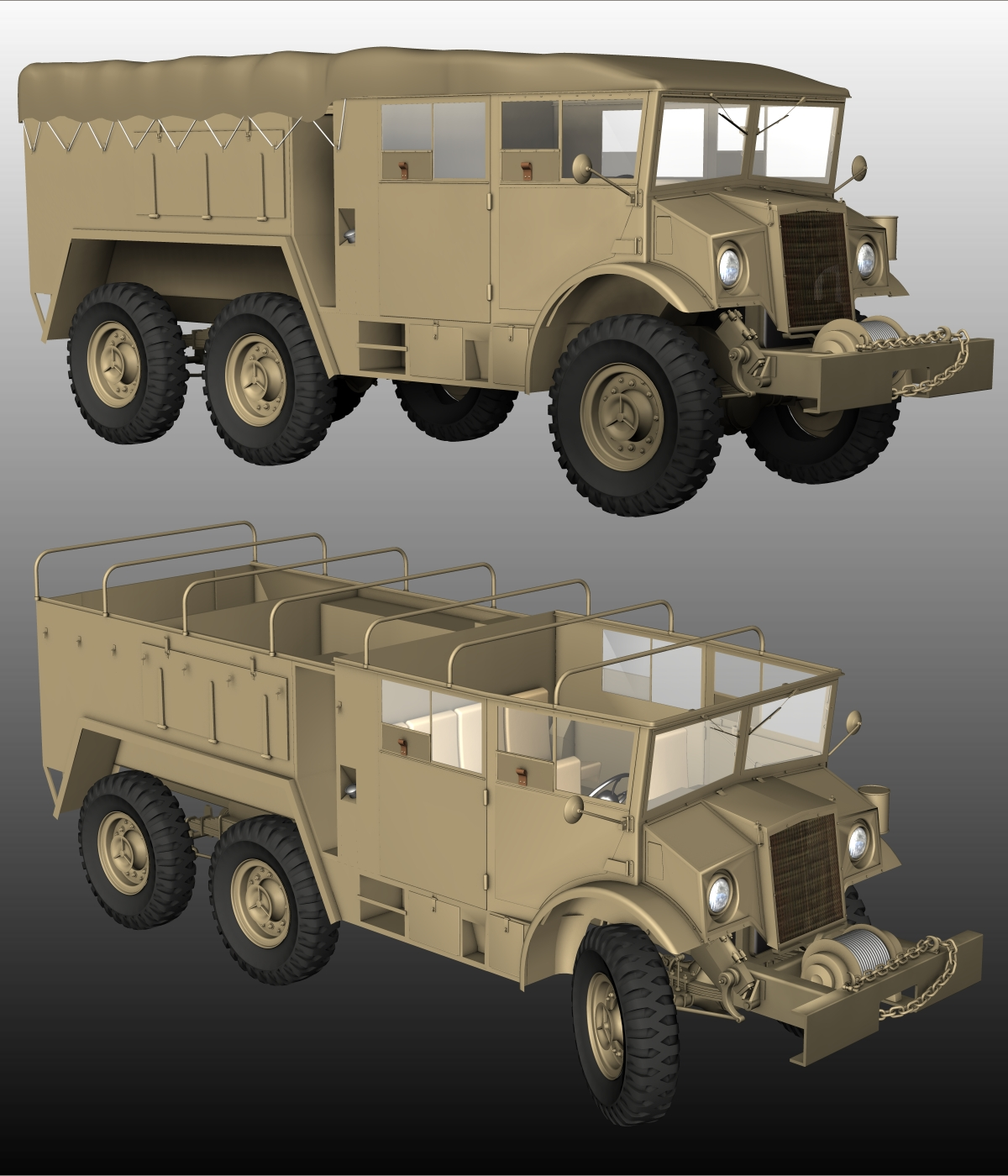 CMP 6X6 - EXTENDED LICENSE by 3DClassics