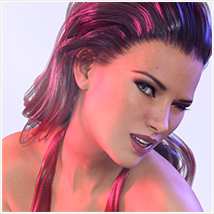 Z She Devil - Poses and Expressions for Genesis 3 Female / Victoria 7 image 2