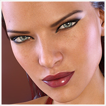 Z She Devil - Poses and Expressions for Genesis 3 Female / Victoria 7 image 8