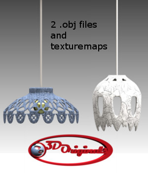 Ceiling Lights 1 - Extended License 3D Models Extended Licenses 3D Game Models : OBJ : FBX Designer01