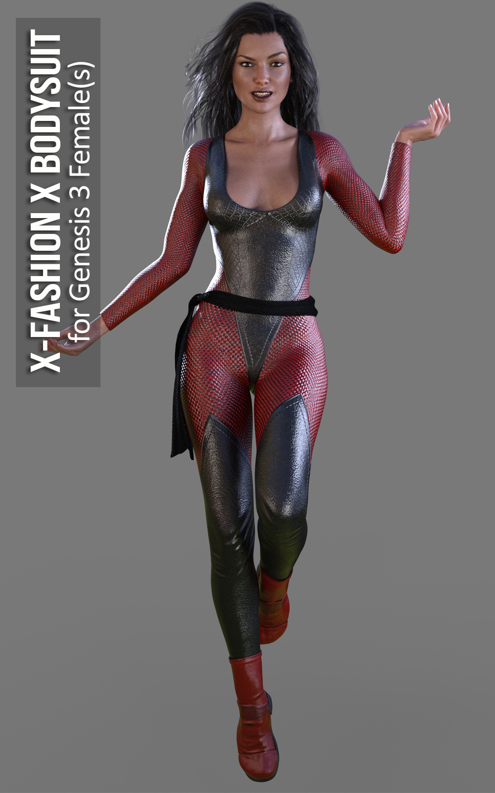 3D Figure Assets • Clothing · X-Fashion X Bodysuit for Genesis 3 Females ·  Previous Next 6bd586cc8