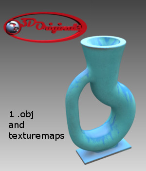 Klein Bottle - Extended License 3D Models 3D Game Models : OBJ : FBX Extended Licenses Designer01