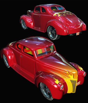 FORD 1940 HOT ROD - Extended License 3D Models Extended Licenses Nationale7