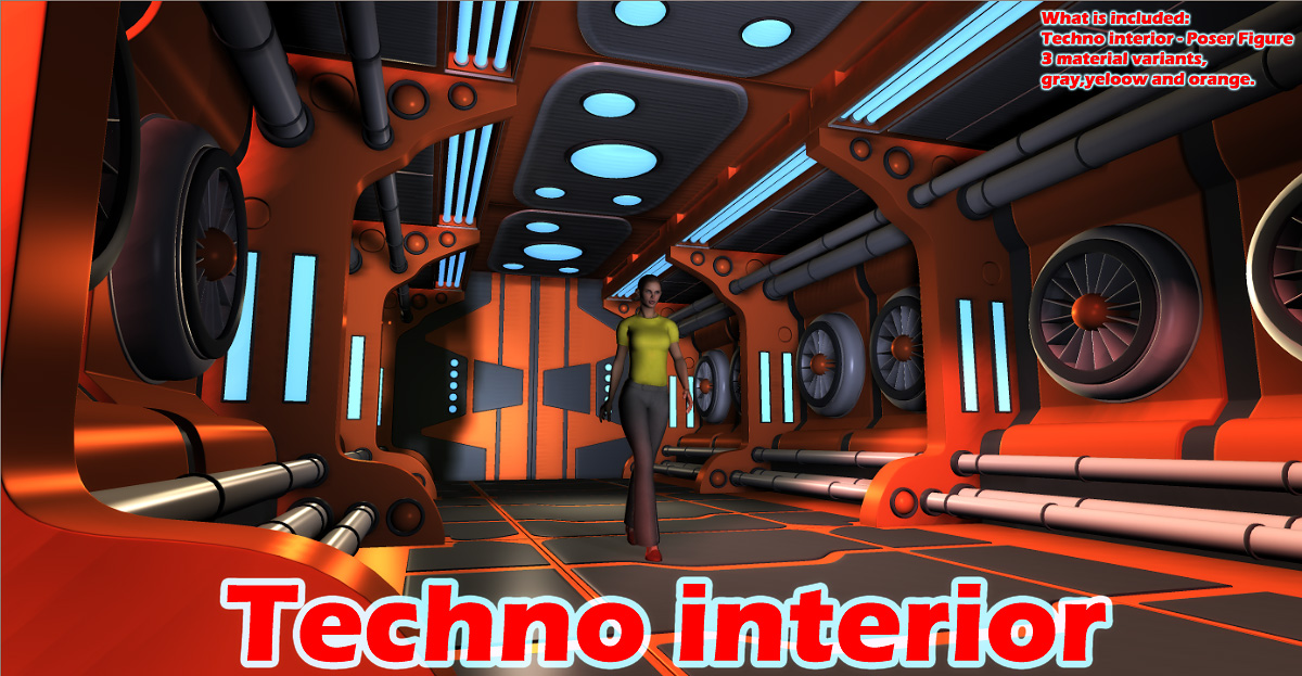 Techno interior
