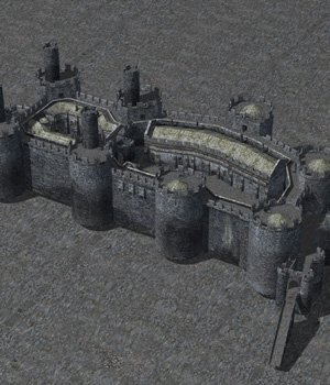 Castle Set 1 (for Poser) 3D Models VanishingPoint