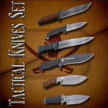 Tactical Knives Set image 1