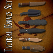 Tactical Knives Set image 2