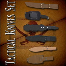 Tactical Knives Set image 3