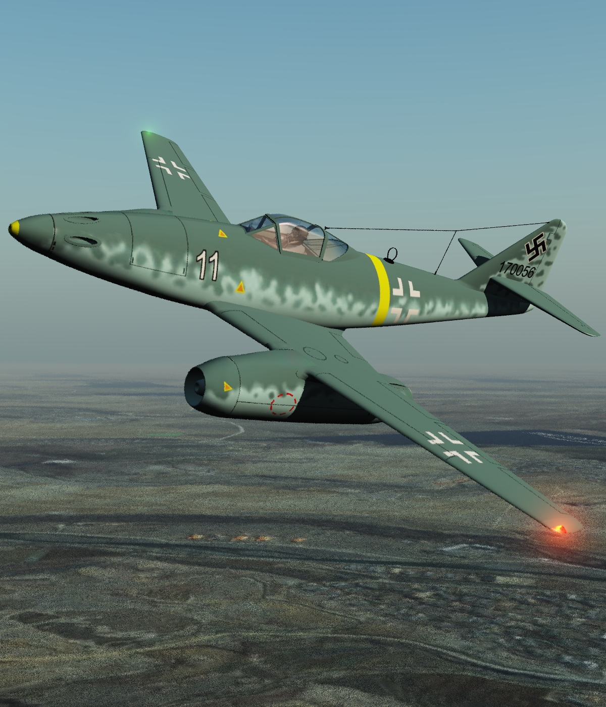 ME 262-EXTENDED LICENSE by 3DClassics