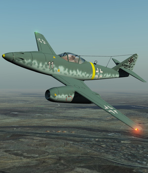 ME 262-EXTENDED LICENSE 3D Models Extended Licenses Nationale7