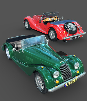 MORGAN-EXTENDED LICENSE 3D Models Extended Licenses 3DClassics