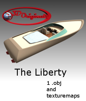 The Liberty - Extended License 3D Models Extended Licenses 3D Game Models : OBJ : FBX Designer01