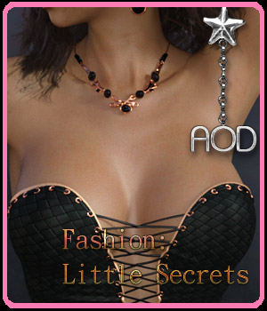 Fashion Little Secrets IRay 3D Figure Assets ArtOfDreams