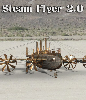 AJ SteamFlyer 2.0 3D Models -AppleJack-
