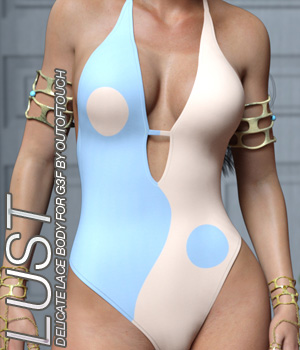 LUST - Delicate Lace Body for Genesis 3 Female(s) 3D Figure Assets Anagord
