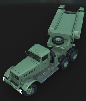 REO 28XS AND TRAILMOBILE-EXTENDED LICENSE 3D Models Extended Licenses Nationale7
