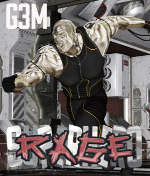 SuperHero Rage for G3M Volume 1 3D Figure Assets GriffinFX
