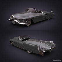 BUICK LE SABRE 1951 EXTENDED LICENSE image 1